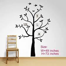 Amazon Com Family Photo Small Tree Wall Decal Stickers Living Room Home Decal Bed Baby Room Wall Decals Memory Tree And Birds Wall Stickers Butterfly Kitchen Dining