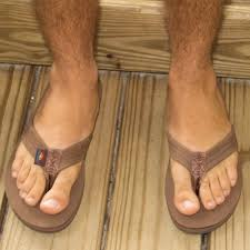 can you get rainbow sandals wet the