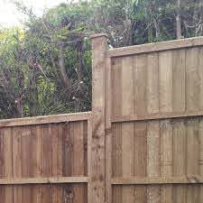 Fence Posts 75x100mm Wooden Posts Pressure Treated Free Delivery Available