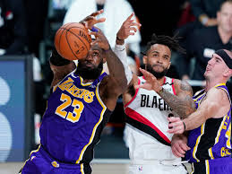 James, Davis power Lakers past Trail Blazers for 2-1 lead