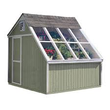 shed into a greenhouse