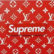 supreme louis vuitton logo
