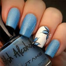 30 beautiful blue acrylic nail designs