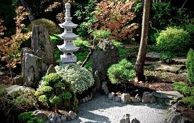 relaxing zen space in your backyard