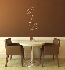 Coffee Wall Decal Coffee Shop Coffee Lover Kitchen Wall Etsy