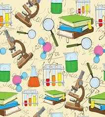 Kids Room Decor Duvet Cover Set By Ambesonne Science Education Lab Sketch Books Equation Loupe Microscope