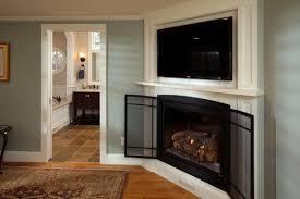 built in tv over corner fireplace need