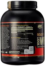 on 100 whey gold standard 5lb size 5