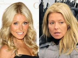 kelly ripa from stars without makeup