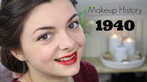 makeup history 1940 s you