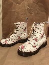 rose flower ankle boots womens sz 9