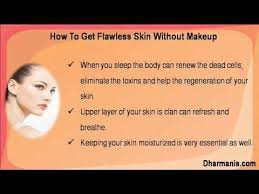 get flawless skin without makeup