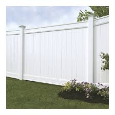 Emblem 6x8 Vinyl Privacy Fence Kit Vinyl Fence Freedom Outdoor Living For Lowes 1001 In 2020 Vinyl Privacy Fence Vinyl Fence Panels Backyard Fences