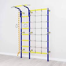Amazon Com Home Gym Swedish Wall Playground Set For Schools Kids Room Comet Nex3 S3 Sports Outdoors