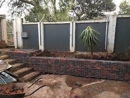How To Make Simple Gabion Retaining Wall Hometalk
