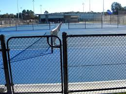 Chain Link Swig Gate Applied In Sport Field Park And Factories