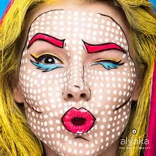 pop art makeup alyaka