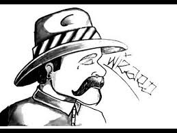 how to draw a cholo chicano gangster