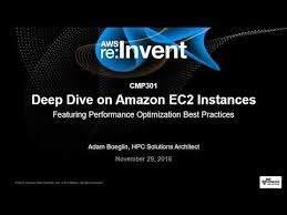 AWS re:Invent 2016: Deep Dive on Amazon EC2 Instances, Featuring  Performance Optimization (CMP301) - Hosting Journalist.com