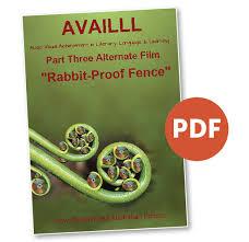 Availll Part 3 Alternate Film Rabbit Proof Fence Literacy Innovators
