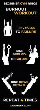 beginner gym rings workout calisthenicz