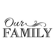 Decal Vinyl Wall Sticker Our Family Quote Contemporary Wall Decals By Design With Vinyl