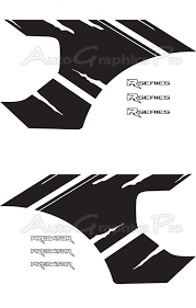 2010 2014 Ford Raptor Svt Predator 2r Factory Style Vinyl Decal Graphic Stripes