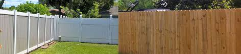 Wood Fencing Vs Vinyl Which Is Better All County Fence Contractors
