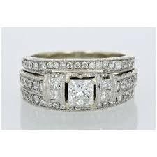 neil lane 2 21ctw princess cut diamond