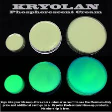 kryolan phospscent glow in the dark