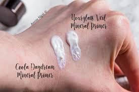 hourgl veil mineral primer vs coola