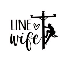 Line Wife Decal Lineman Wife Decal Love The Line Man Car Window Decal Sticker Tumbler Decal Laptop Decal In 2020 Lineman Wife Lineman Laptop Decal