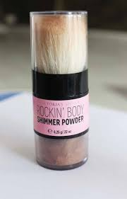 secret rockin body shimmer powder