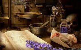 L'apothicaire des herbes magiques... - Herbier de la Sorcière
