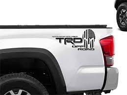 Product Toyota Racing Development Trd Spartan Helmet In Us Flag Edition 4x4 Bed Side Graphic Decals Stickers