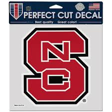 Nc State Wolfpack Wincraft 8 X 8 Color Car Decal