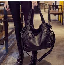 large soft leather bag women handbags