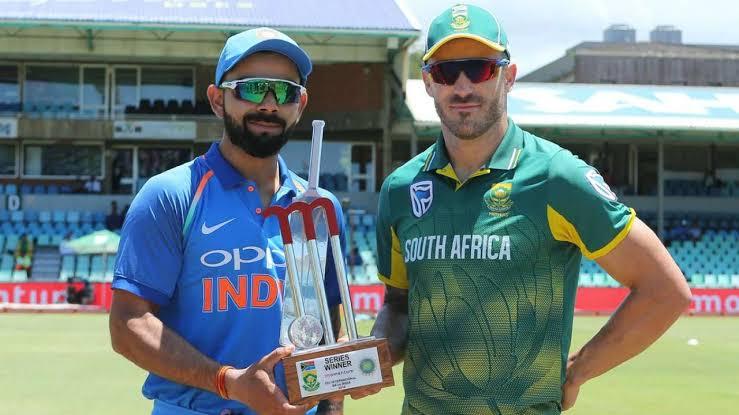 """Image result for Kohli-Faf toss ODI"""""""