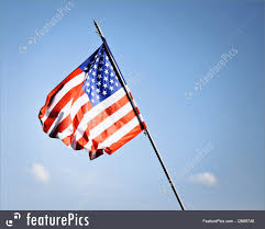 flags american flag stock photo