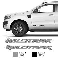 Ford Ranger Wildtrak Side Doors Sticker Set