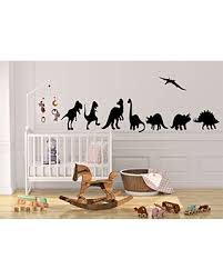 Remarkable Deals On Dinosaurs Jurassic Wall Decal Boys Room Wall Decal Kids Wall Decal Dinosaur Theme Set Of 8