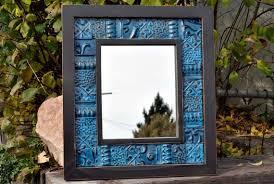 antique tin ceiling tile vintage mirror