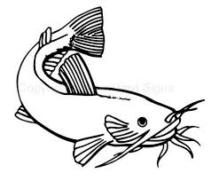 Clipart Black And White Catfish Clip Art Library