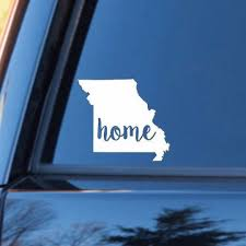 Missouri Home Decal Missouri State Decal Homestate Decals Love Sticker Love Decal Car Decal Personalized Vinyl Decal Montana Homes Missouri State