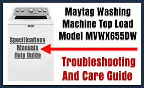 may washing machine top load model