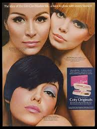 1960s makeup styles from coty