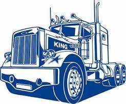18 Wheeler Semi Big Rig Road Car Diesel Truck Driver Window Vinyl Decal Sticker Ebay