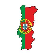 13cm X 6 5cm Car Styling Portugal Portuguese Sticker Map Flag Silhouette Bumper Vinyl Decal Pegatina Bike Car Sticker Wish