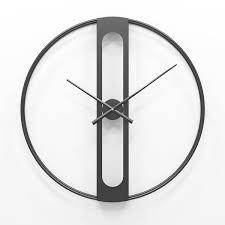 nordic metal wall clocks retro iron