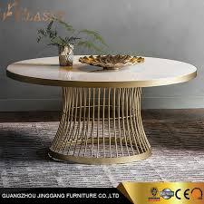 china luxury modern round marble coffee
